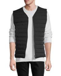 Y-3 Men's Classic Light Down Liner Vest - Black - Size Xl