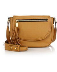 11de42d1f898 Milly Perry Dot Mini Drawstring Bag - Blackgold in Metallic - Lyst