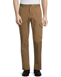 Strellson Low-rise Tapered Cargo Trousers - Natural