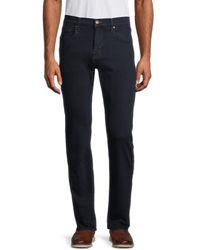 7 For All Mankind Men's Slim Straight-leg Jeans - Temple - Size 32 - Blue