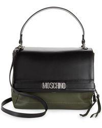 Moschino - Leather Satchel - Lyst
