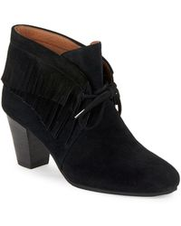 Gentle Souls - Bettie Suede Booties - Lyst