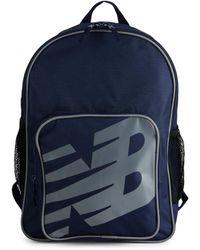 New Balance Men's Logo Sporty Backpack - Team Navy - Blue