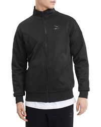 PUMA Men's Iconic Track Jacket - Black - Size Xl