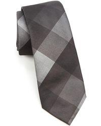 Trafalgar - Modern Geometric Print Silk Tie - Lyst