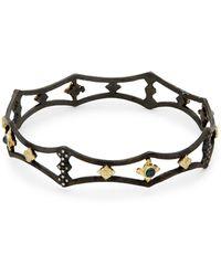 Armenta New World Diamond Cutout Bangle Bracelet - Multicolor