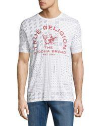 True Religion - Buddha Brand Crewneck T-shirt - Lyst