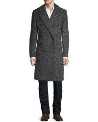 Karl Lagerfeld Long-sleeve Coat - Grey