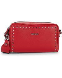 Valentino By Mario Valentino - Mila Presiosa Leather Crossbody Bag - Lyst