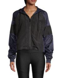 Alala Colorblock Tech Jacket - Black