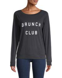 South Parade Brunch Club Sweatshirt - Black