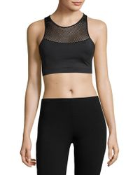 Balance Collection - High Impact Mesh Sports Bra - Lyst