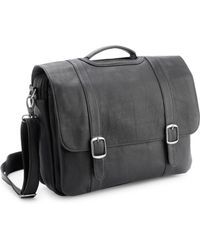 "Royce - Leather 15"" Laptop Satchel Brief - Lyst"