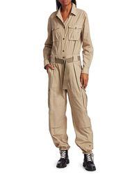 Rag & Bone - Women's Aviator Boilersuit - Light Khaki - Size 0 - Lyst