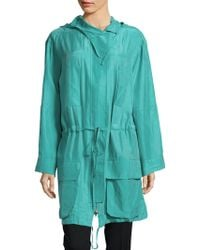 Equipment - Hooded Long-sleeve Jacket - Lyst