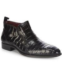 Mezlan - Bene Crocodile Boots - Lyst