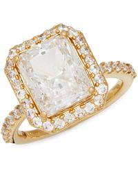 Adriana Orsini Goldtone & Crystal Ring - Multicolour