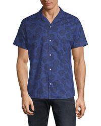 Slate & Stone - Printed Camp Shirt - Lyst