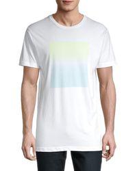 Vestige Reflected Ombre T-shirt - White
