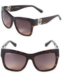 Swarovski - 54mm Square Sunglasses - Lyst
