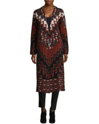 Mara Hoffman - Rug Sweater Coat - Lyst