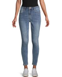One Teaspoon Freebirds Ii High-rise Skinny Jeans - Blue