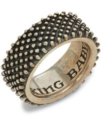 King Baby Studio Sterling Silver Ring - Metallic