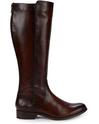 Frye - Melissa Leather Knee-high Riding Boots - Lyst