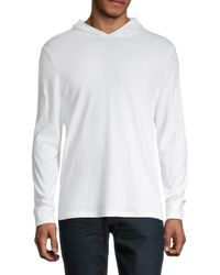 James Perse Long-sleeve T-shirt Hoodie - White
