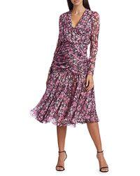 Giambattista Valli Floral Silk Dress - Multicolour