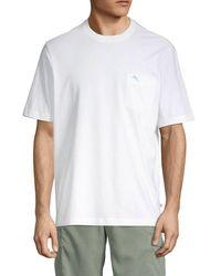 Tommy Bahama Men's Horizon Patch Pocket T-shirt - Black - Size S