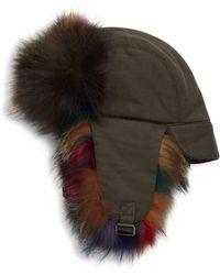 Annabelle New York - Multicolor Fox Fur Trapper - Lyst