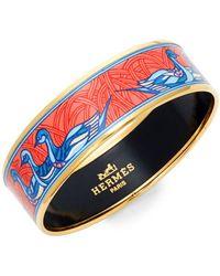 Hermès - Vintage Duck Enamel Bracelet - Lyst