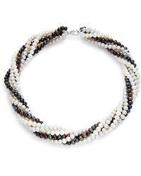 Effy Women's Sterling Silver & Freshwater Pearl Beaded Necklace - Metallic