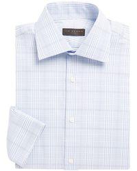 Ike By Ike Behar - Cotton Plaid Shirt - Lyst
