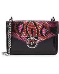 Rebecca Minkoff Women's Mini Jean Leather Crossbody Bag - Pink