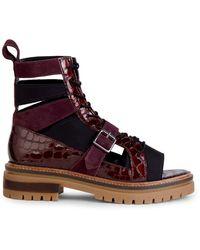 Free People Mandi Boot Sandals - Brown
