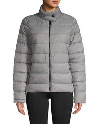 Marc New York Super Soft Packable Jacket - Purple