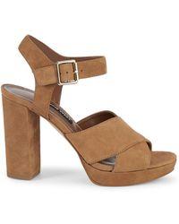 e2b822e65ac Lyst - ALDO Women s Shizuko Ankle-strap Wedge Sandals in Natural
