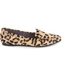Me Too Animal-print Calf Hair Loafers - Multicolour