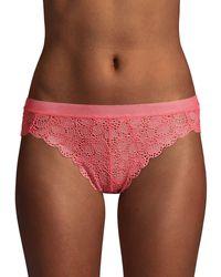 DKNY Brazillian Bikini Briefs - Pink