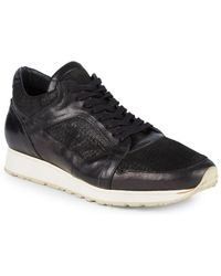John Varvatos - 315 Trainer Leather Low-top Trainers - Lyst