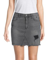 Joe's Jeans - Rachel High-waist A-line Denim Skirt - Lyst