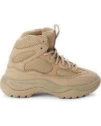 Yeezy Desert Mesh High-top Sneakers - Natural