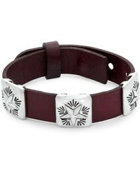 King Baby Studio - Conch Star Leather Bracelet - Lyst
