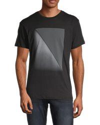 Vestige Graphic Cotton T-shirt - Black