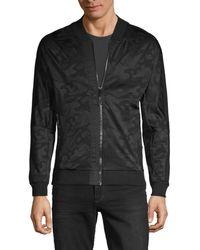 Antony Morato Men's Camouflage-print Bomber Jacket - Black - Size M