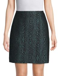 Lanvin - Embroidered High-rise Skirt - Lyst