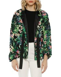 W118 by Walter Baker - Tropical Floral Jacket - Lyst