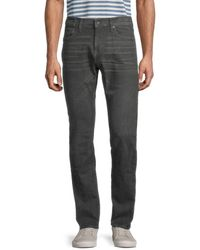 John Varvatos Men's Bowery Slim-fit Straight Jeans - Kalamata - Size 32 - Multicolor